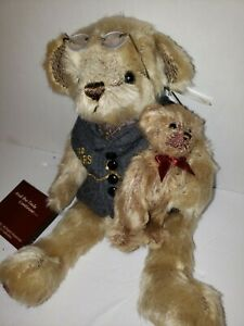 Ted E Bearington 100 Years Bear Faux Mohair Tags 1902-2002 Limited Edition Plush