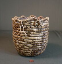Late 1800 Well Used Native American Northwest Klickitat Cowlitz Berry Basket