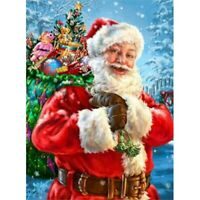 5D Full Drill Diamond Painting Embroidery Santa Claus Art Decor Cross Stitch Kit