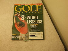 Golf Magazine ~ December 2001 ~ Special: HOw To Make The Rules Work For You
