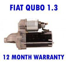 FIAT QUBO 1.3 MPV 2008 2009 2010 2011 2012 2013 2014 2015 RMFD STARTER MOTOR