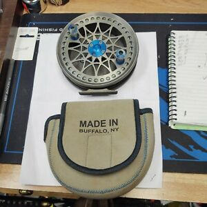 COVILLE 565 DREAMCATCHER CENTER PIN REEL WITH BACKER AND CHROMIUM LINE