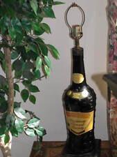 """Antique 33"""" LAMP DuBouchette Blackberry Brandy BAR Table Vintage Blanc Liqueur"""