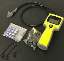 Trojan Video Borescope with Color Camera Head, 3' Flexible Shaft and DVR