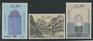 Algeria 1975 Famous Buildings set Sc# 559-61 NH