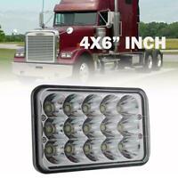 4x6Inch LED Headlamp Headlight Hi/Low Sealed Beam Light Lamp for Wrangler Truck