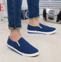 Males Slip On Loafers Canvas Shoes Flats Sneakers Casual shoes Spring