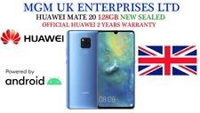 "NUOVO 6.53"" Huawei Mate 20 DUA-SIM HMA-L29 128GB Blue Sbloccato Di Fabbrica 4G SIMFREE"