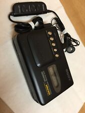 SONY WM-FX55 PORTABLE RADIO CASSETTE PLAYER VINTAGE WORKING REMOTE CONTROL 中古!