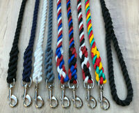 Dog Leads Handmade Large Size Dog 14mm Spliced Rope Various Colours/Lengths