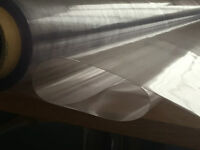 THICK 0.5MM CLEAR PVC TABLE COVER WATERPROOF UV/COLD CRACK RESISTANT /TABLECLOTH