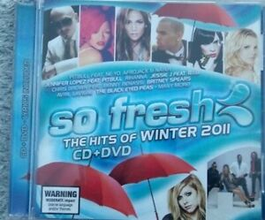 So Fresh the Hits of Winter 2011 cd + dvd various artists compilation  🎵