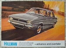 HILLMAN HUNTER car sales brochure 1969 # 3553 / h