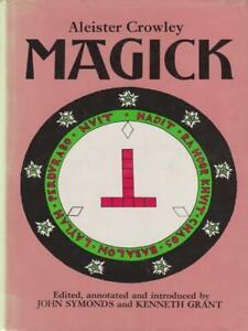 MAGICK PRIMA EDIZIONE CROWLEY ALEISTER ROUTLEDGE & KEGAN 1973