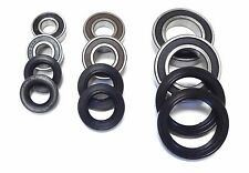 All Front Rear Wheel Axle Bearings and Seals Warrior YFM350 YFM350X 1987 - 2004
