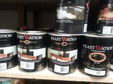 FEAST&WATSON 1 LITRE  MIX colour  STAIN&VARNISH&OILS MIX COLORS