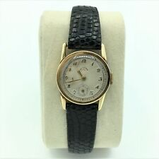 Vintage Girard-Perregaux 14K Yellow Gold 17J Abercrombie & Fitch Wrist Watch