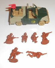 1980's Bluebird Toys - Zero Hour ~ ZA2 COUGAR ~ Armed Vehicle Set  - 6215