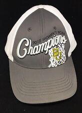 NEW 2012 NCAA WOMEN'S NATIONAL CHAMPIONS Baylor BU Snapback HAT CAP One Size