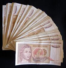 Yugoslavia 10000 dinara 1992. - lot of 100 pcs