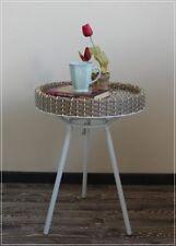 Beistelltisch Couchtisch Tablett-Tisch Kunstrattan Garten Skan Design NEU