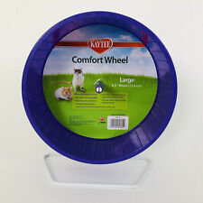 "Kaytee Large 8.5"" Comfort Exercise Wheel Quiet Running 21.6 cm Tail Safe Hamster"