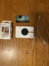 Polaroid Snap Touch Portable Instant Print Digital Camera with SD Card, 18 Shots