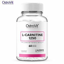 OstroVit Supreme Capsules L-Carnitine 1250 - 60 Caps Energy & Effective Slimming