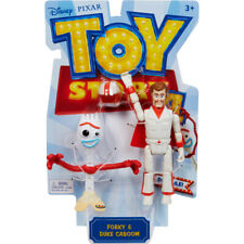 Disney Pixar Toy Story 4 Forky & Duke Caboom Action Figure Pack
