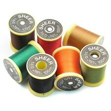Fly Tying Thread, 3 x Gordon Griffiths Sheer Ultra fine 14/0 Choice of colours
