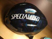 SPECIALIZED  MOUNTAIN MAN  BIKE BICYCLE  HELMET BLUE  Size S/M.