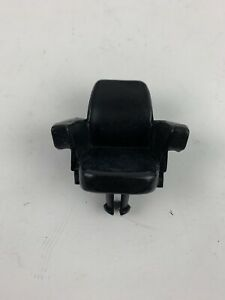1/16 tractor part ORIGINAL John Deere black plastic seat 4wd 8630 8430 8640 8440