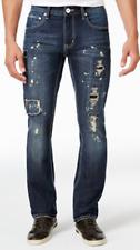 INC International Concepts Men's Skinny-Fit Dark Wash Jeans, 30X30, MSRP $70