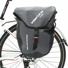 VENZO 600D TPU Waterproof Bike Bicycle Rear Pannier Bag