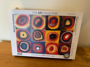 1000 Piece Jigsaw Puzzle - Eurographics Kadinsky ''Colour Study of Squares''