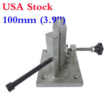 "US Stock! 100mm 3.9"" Dual-axis Bender Metal Channel Letter Angle Bending Machine"
