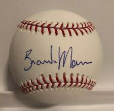 BRANDON MORROW SIGNED RAWLINGS OMLB BASEBALL LOS ANGELES DODGERS AUTOGRAPH