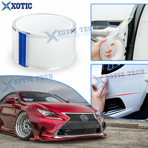 Door Sill Side Skirt Bumper Lip Protect Clear Roll Sticker Film For Toyota Lexus