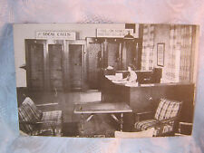 WISCONSIN TELEPHONE CO. MILWAUKEE WI  PHONE BOOTH POSTCARD ARMED FORCES