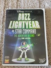 Buzz Lightyear of Star Command: The Adventure Begins (DVD, 2000) RARE OOP TESTED