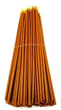 "200 Natural Beeswax Taper Candles 11"" Pure Wax Scented Jerusalem Church Candles"