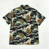 Men's Animal Pattern Print Hawaiian Shirts Summer Bob Dong Aloha Hawaii Shirt