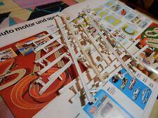 1-ASSORTIMENTO 4054 x PISTA ELETTRICA H0 FALLER A.M.S USATI COME da FOTO