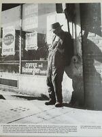 VINTAGE PHOTO AID THE GREAT DEPRESSION UNEMPLOYED WORKER SAN FRANCISCO. 1937