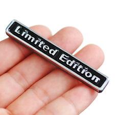 3D Black LIMITED EDITION Car Sticker Plating Metal Badge Body/Rear Trunk Emblem
