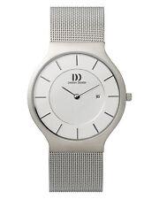 Danish Design IQ62Q732 36mm Silver Dial Stainless Steel Quartz Men's Watch