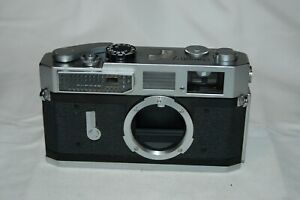 Canon-7 Vintage 1965 Japanese Rangefinder Camera. Serviced. No.829065. UK Sale