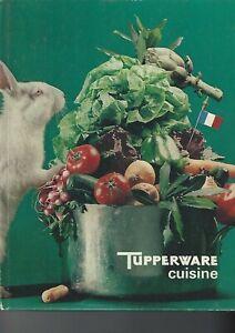 """""""TUPPERWARE cuisine""""  Livre de recettes tupperware 1970"""