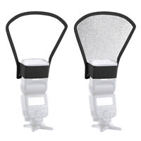 Neewer Two-Side Flash Diffuser Silver/White Reflector for Speedlite Flash