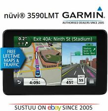 "Garmin Nuvi 3590LMT │ 5"" Gps GPS │ Lane Assist │ Lifetime UK EU Cartes + 3D trafique"
